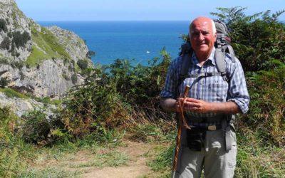 Wochenende-Interview mit Jakobspilger Alvarez (a)